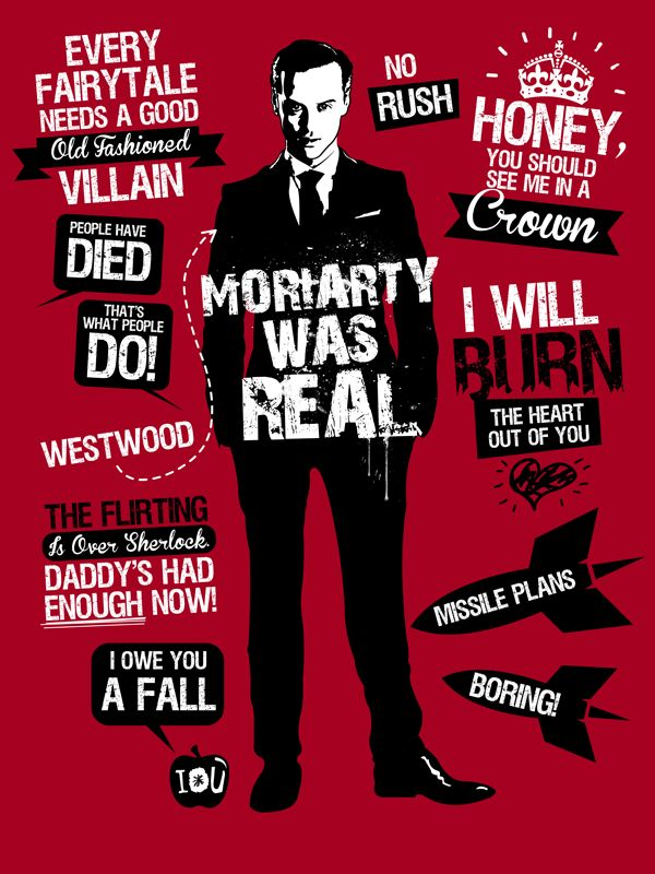 Moriarty Quotes | SHERLOCK - BBC | Sherlock, Sherlock holmes