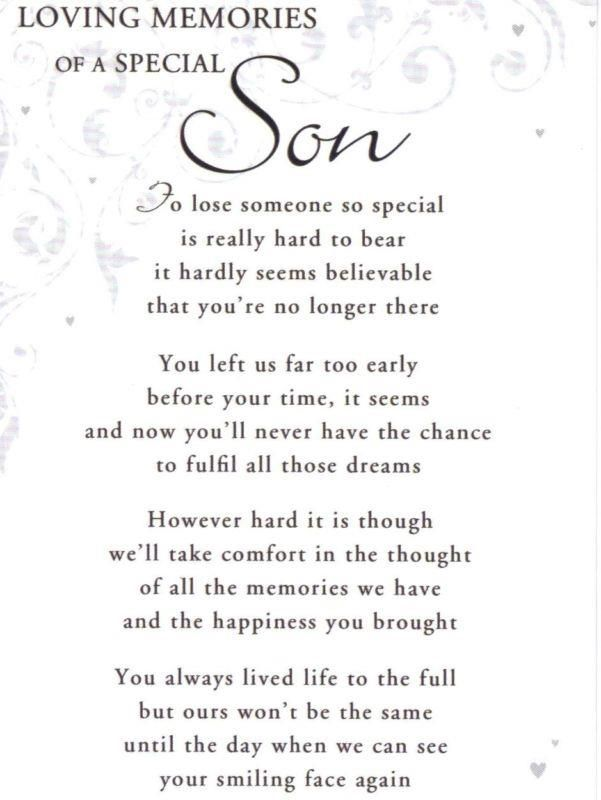 Pin By Darlene On For My Son My Angel My Shining Star Son Poems Short Memorial Quotes Missing My Son