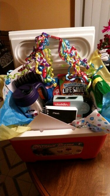 Truck driver gift basket housewarming pinterest gift basket truck driver gift basket negle Images