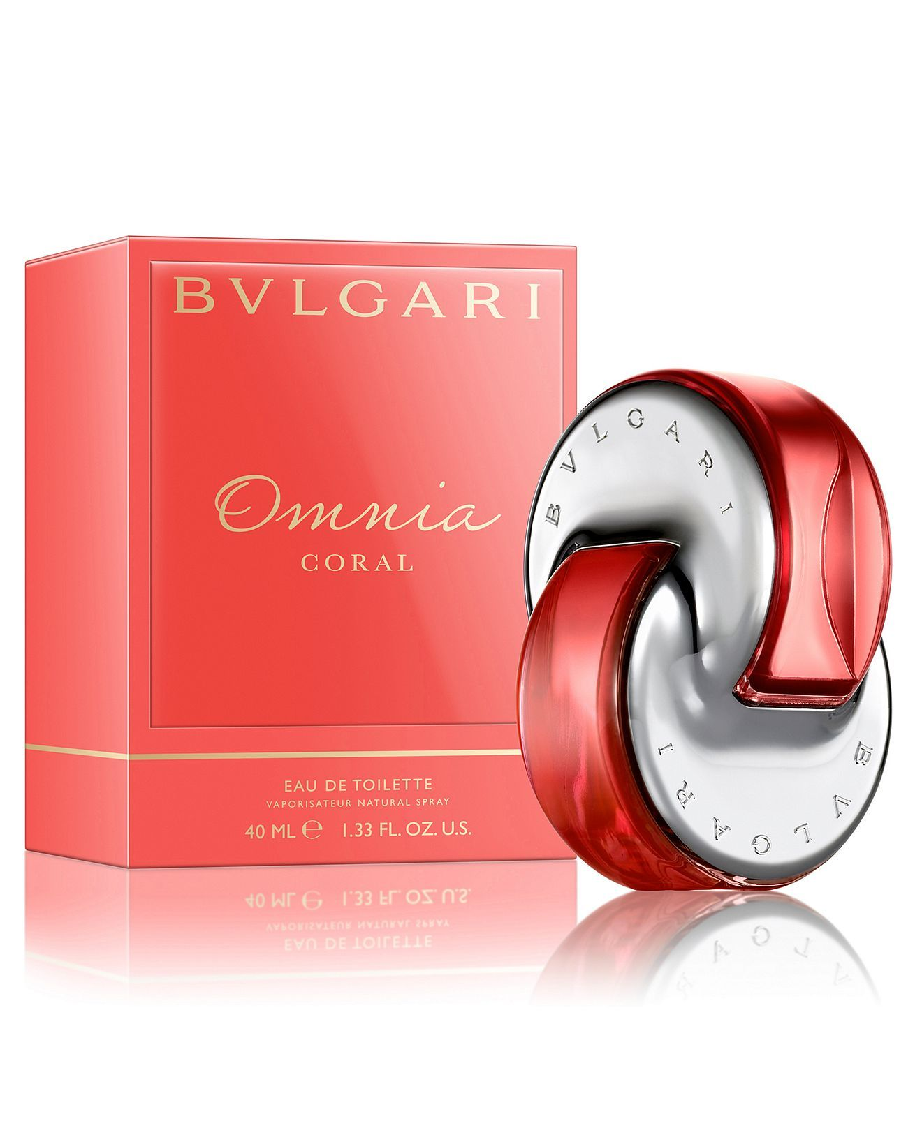 Bvlgari Omnia Coral Eau De Toilette Spray 1 3 Oz Reviews All Perfume Beauty Macy S Omnia Coral Bvlgari Omnia Coral Perfume