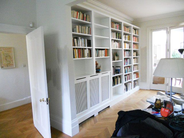 London Radiator Cover Covers Alcoves And Bookshelves