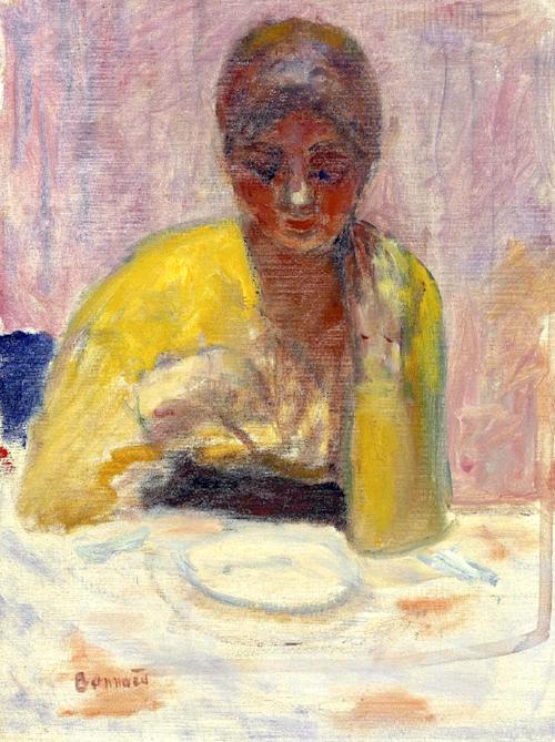 Pierre Bonnard, Giovane donna...