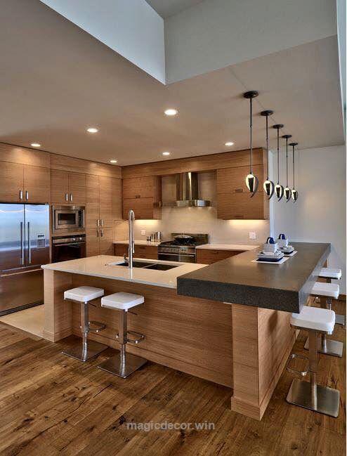 Contemporary Kitchen Ideas  Post Contemporary Luxury Kitchens Awesome Modern Kitchen Interior Design Inspiration Design