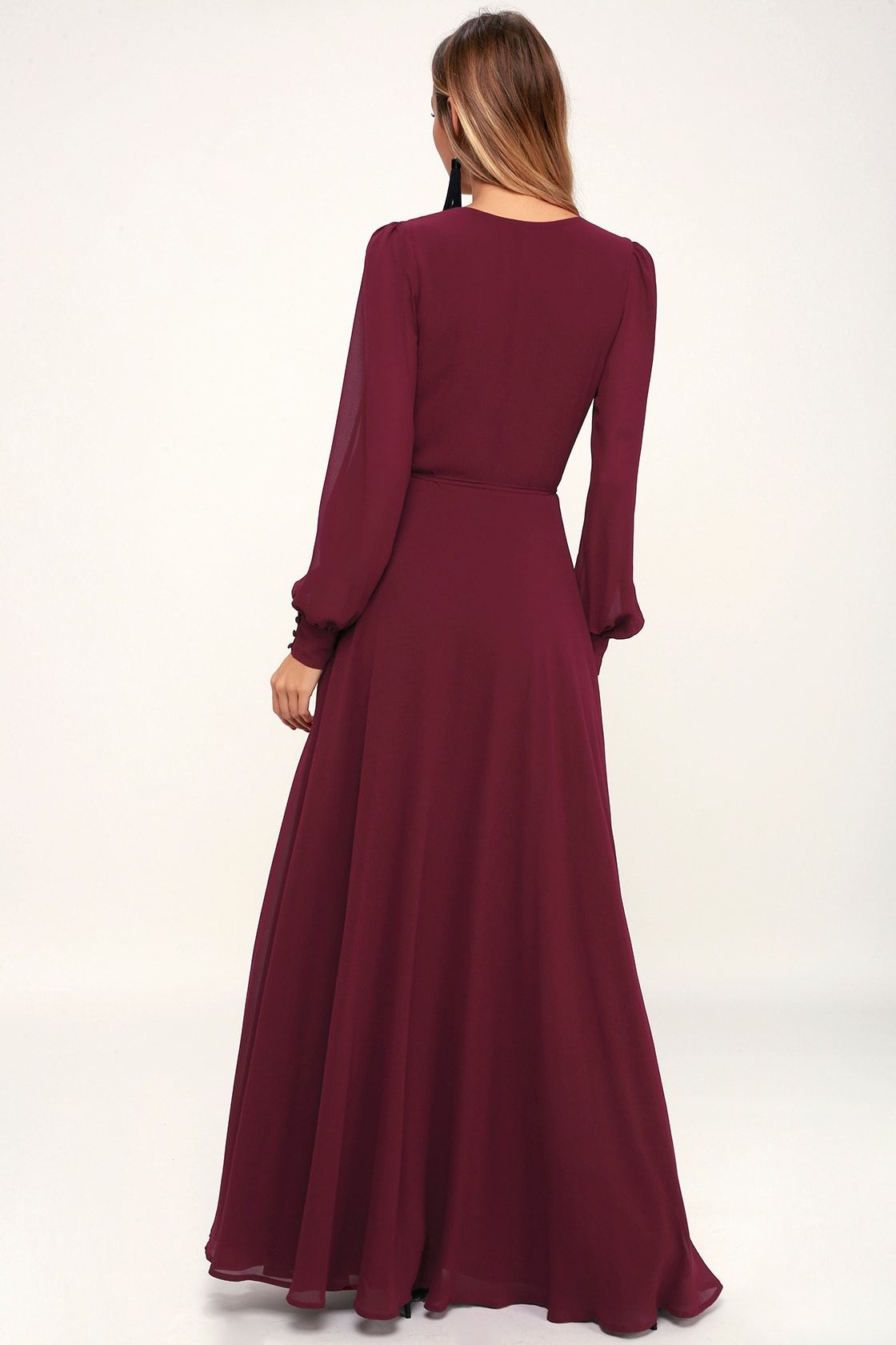 My Whole Heart Burgundy Long Sleeve Wrap Dress Long Sleeve Bridesmaid Dress Long Sleeve Wrap Dress Wrap Dress Long Sleeve [ 1680 x 1120 Pixel ]