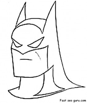 Pin By Stephanie Vaal Northern On Coloring In Page Printable For Kids Batman Coloring Pages Batman Pictures Batman Cartoon