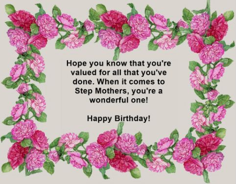 happy birthday stepmom | Happy Birthday Step Mom | Places to Visit