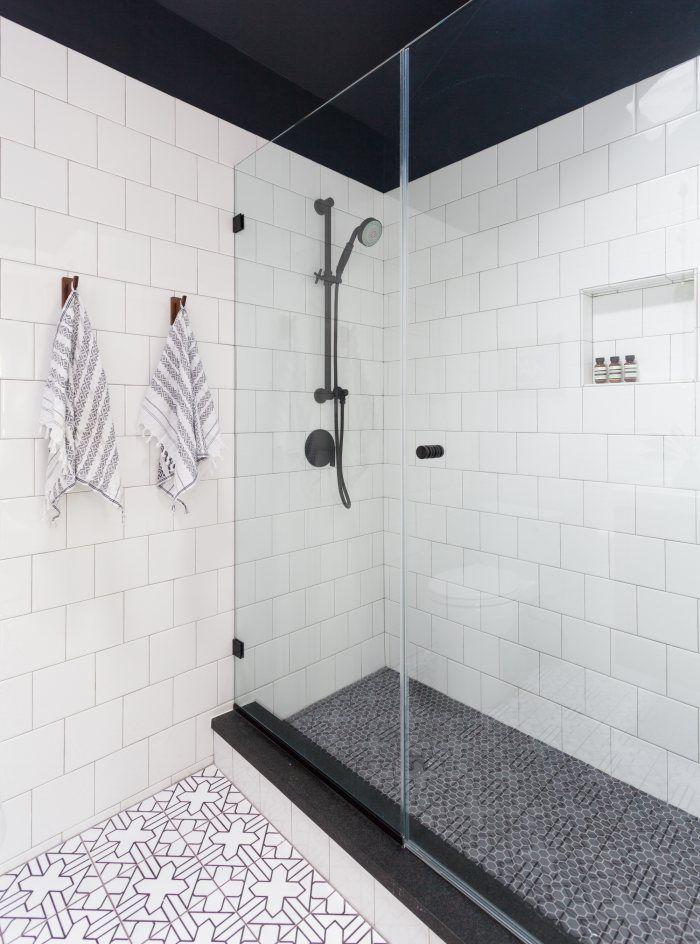 Lakeside Retreat Kasbah Trellis bathroom floor