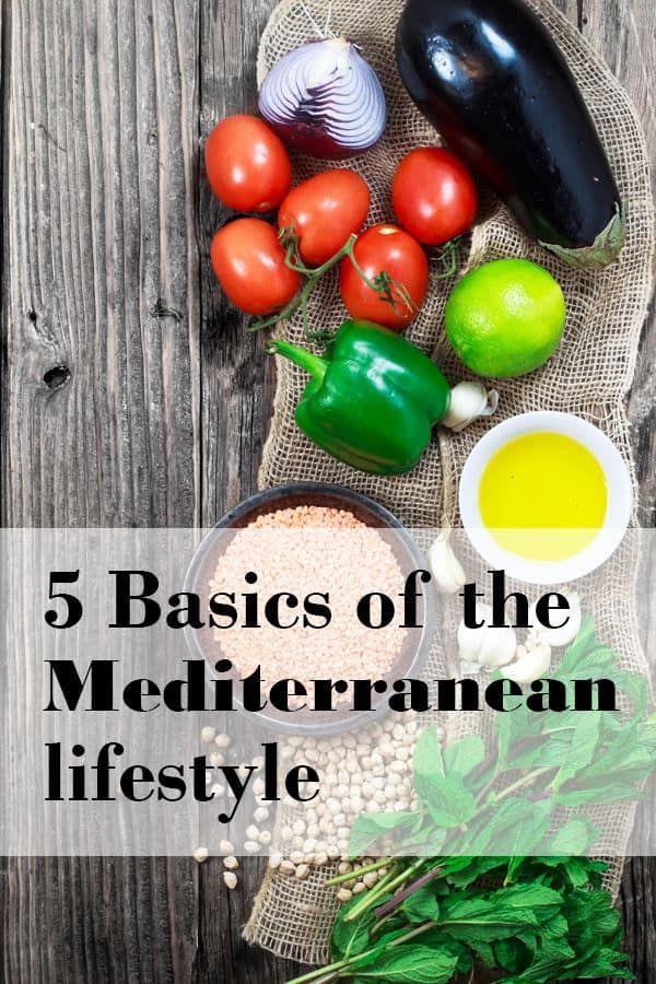 conceptos básicos de la dieta mediterránea