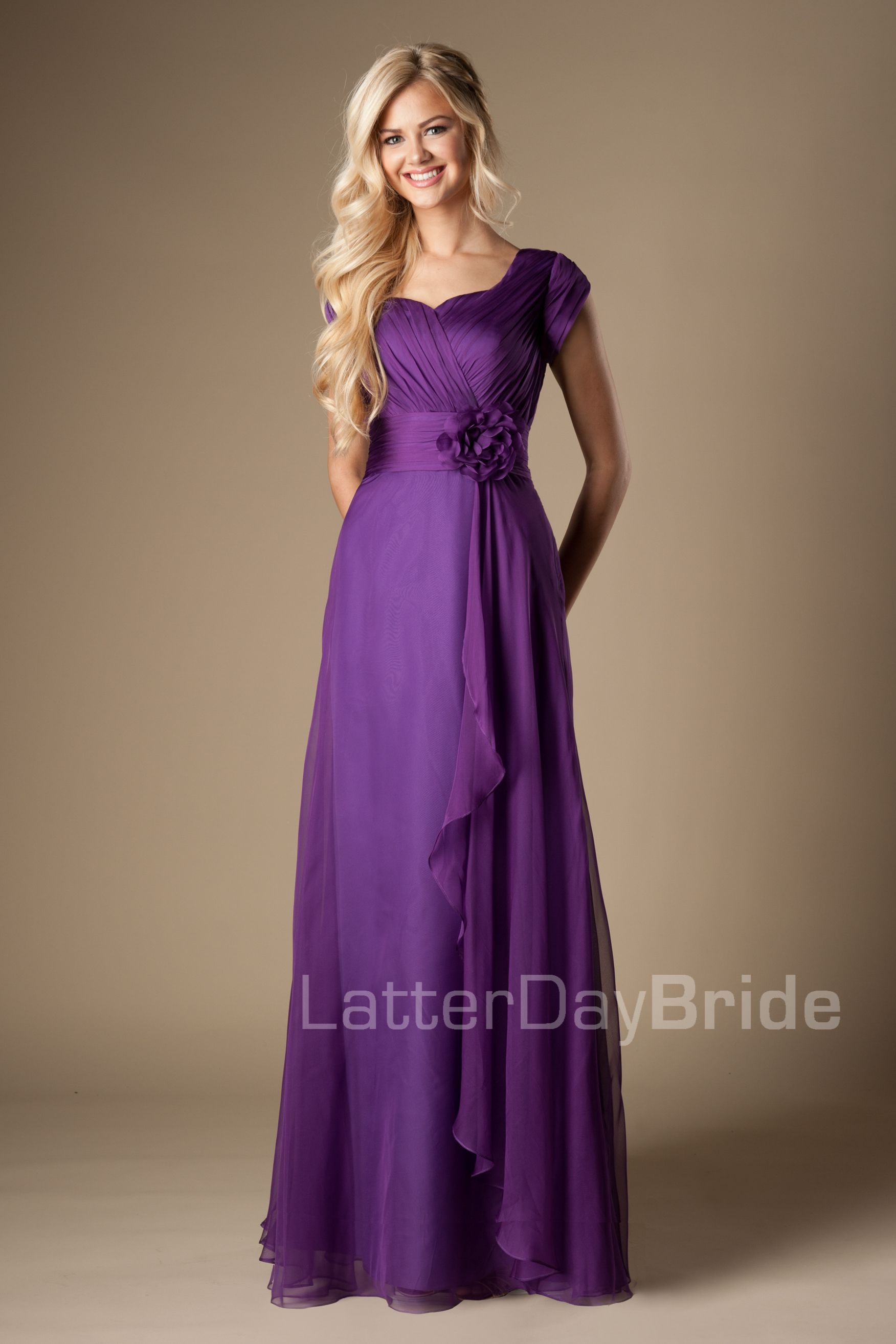 Lujoso Modestos Vestidos De Dama De Utah Ideas Ornamento Elaboración ...
