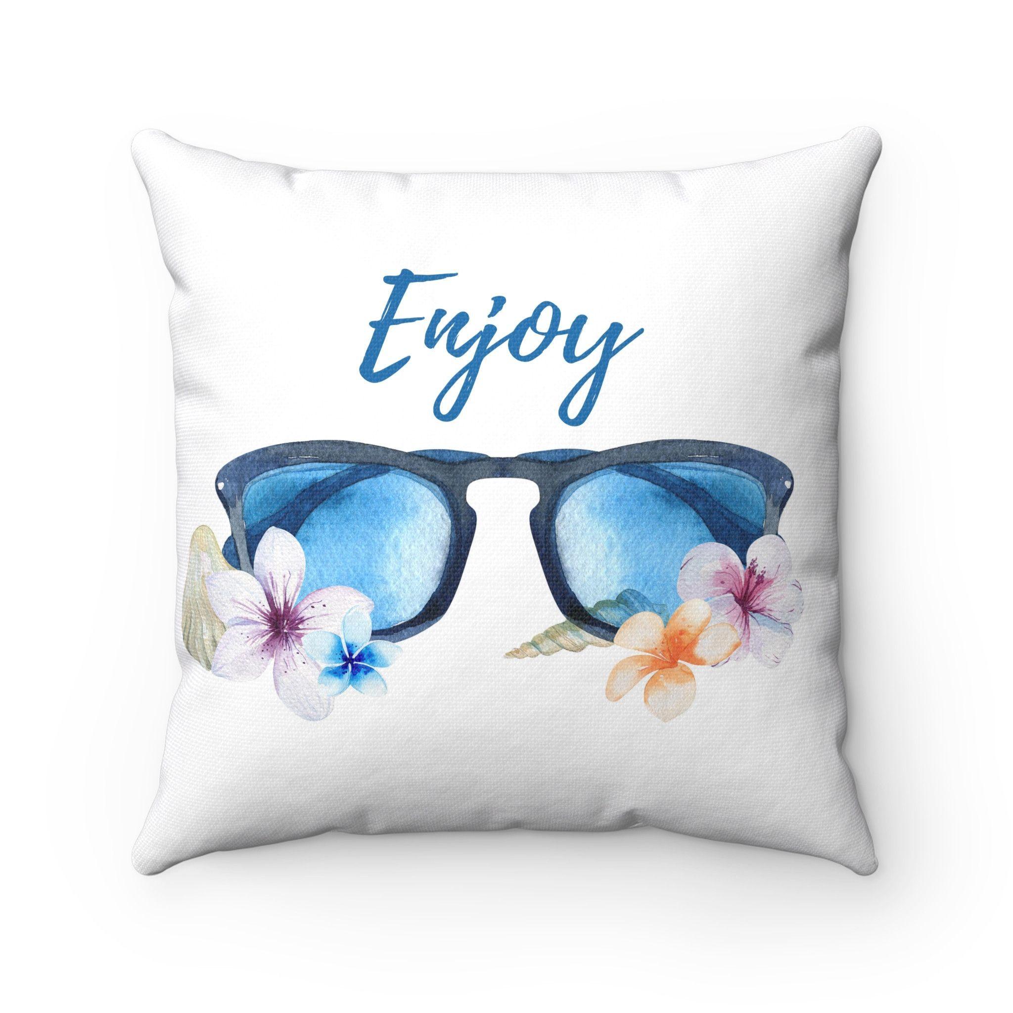 Beach House Decorative Throw Pillows Tropical Theme Home Decor 4
