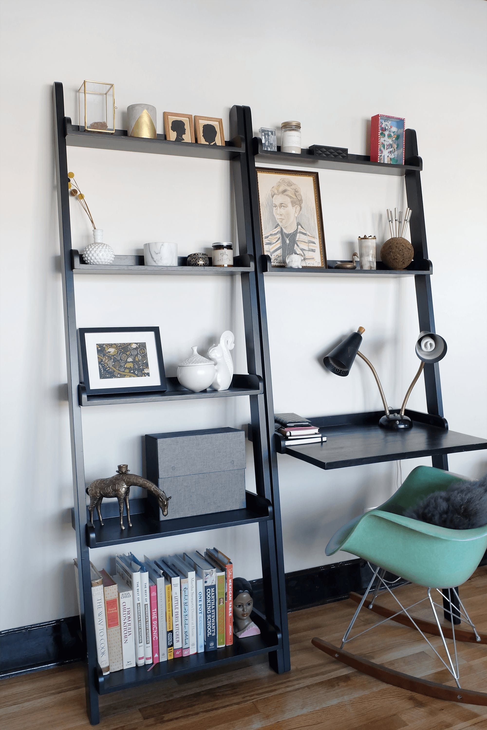 everything has its place u201d in this black brass chicago rental rh pinterest ch
