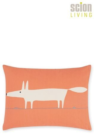 buy scion mr fox orange cushion from the next uk online shop rh pinterest com