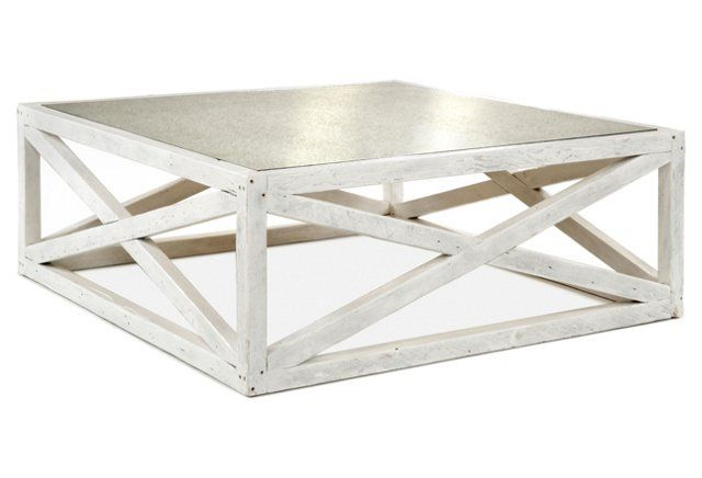 Manning 48 Square Coffee Table White Coffee Table Square
