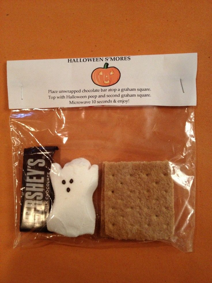 perfect 2015 halloween trick or treat smores bags homemade new ideas - Halloween Trick Ideas