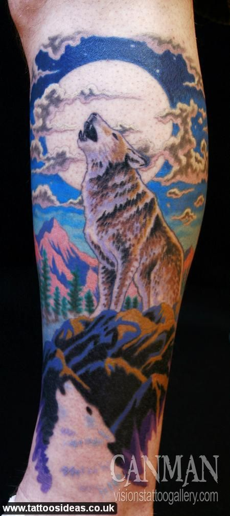 Wolf Tattoos Ideas Tattoo