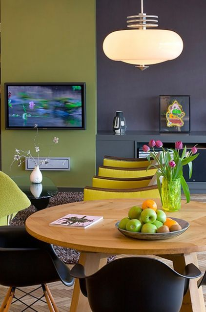 exclusive wonderful purple kitchen ideas | Purple gray. The dark gray used in this space has purplish ...