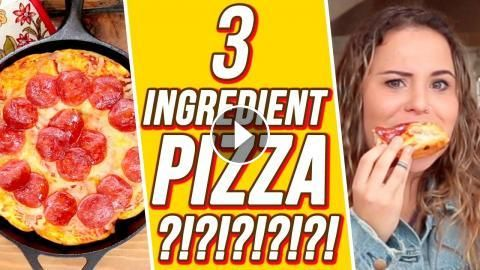 3 Ingredient Bubble Pizza?! | 3 Items Or Less w/ Ayydubs: Ayydubs tests out 3 ingredient bubble pizza from Pinterest. 3 Ingredient CARAMEL…