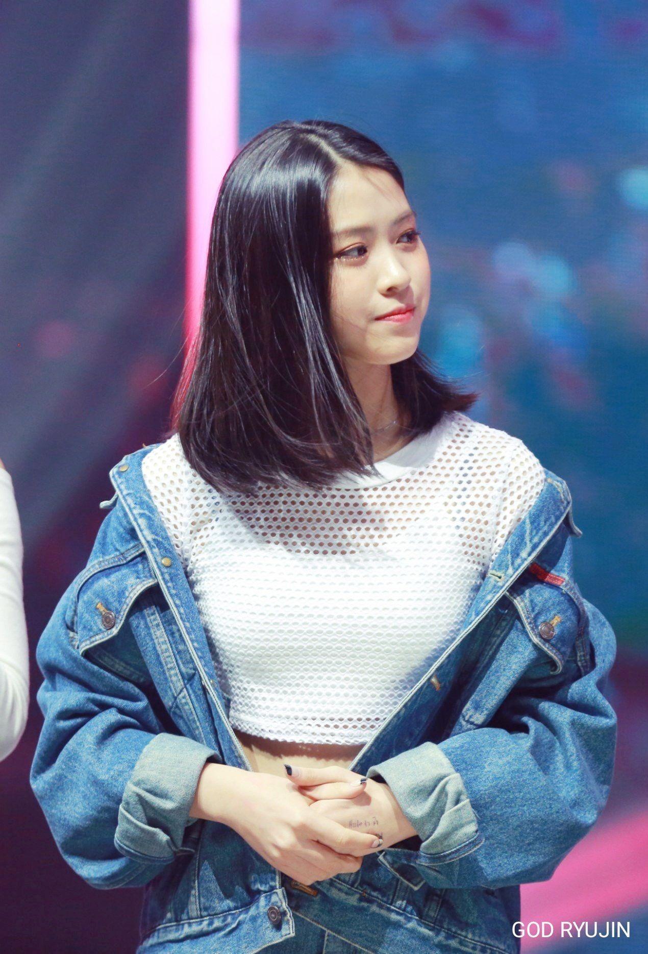 Shin Rhujin Shin Ryujin Mixnine 2nd Mission Winner Really Really Cr God Ryujin 신류진 믹스나인 Jyp Itzy Fashion Korean Girl