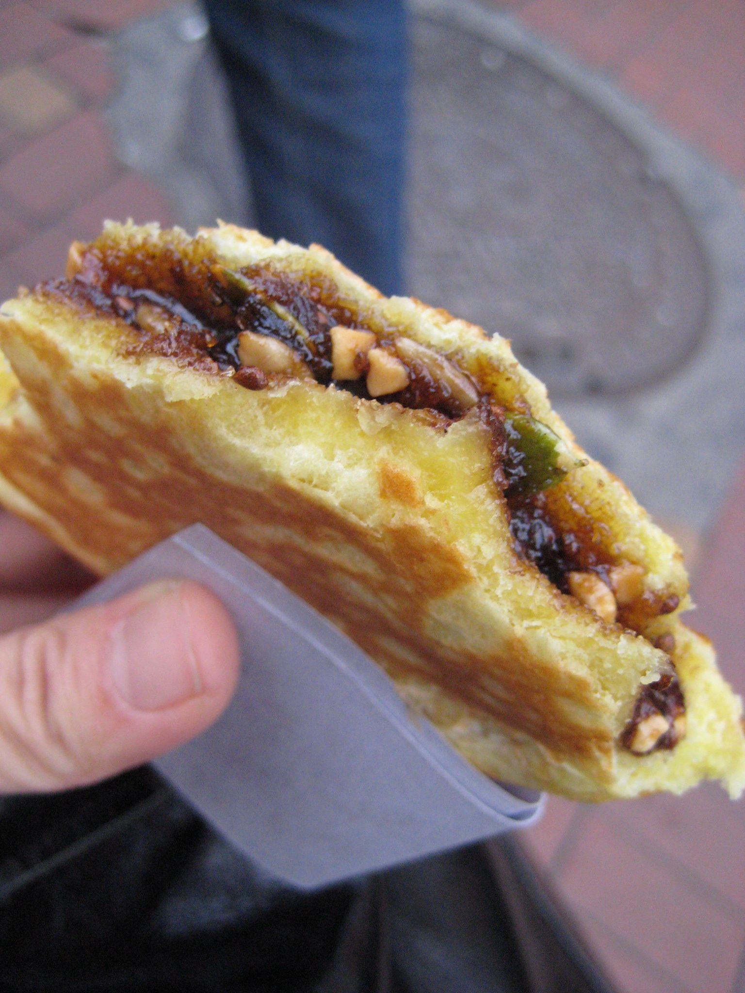Homemade hotteok food asian street food street food
