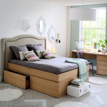 Corto lits 2 places lits chambres meubles fly - Chambre enfant fly ...