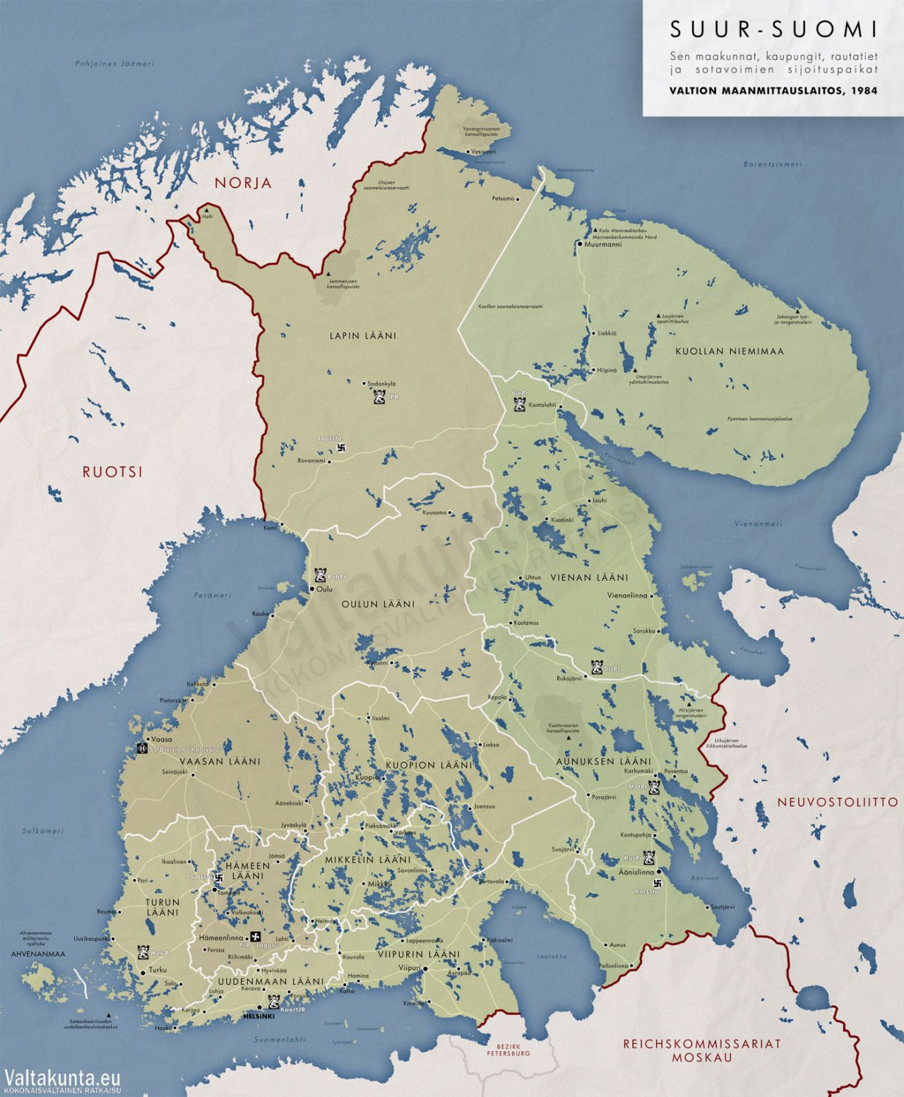 An alternative outcome for finland if the finno soviet wars and an alternative outcome for finland if the finno soviet wars and world war ii had gumiabroncs Gallery