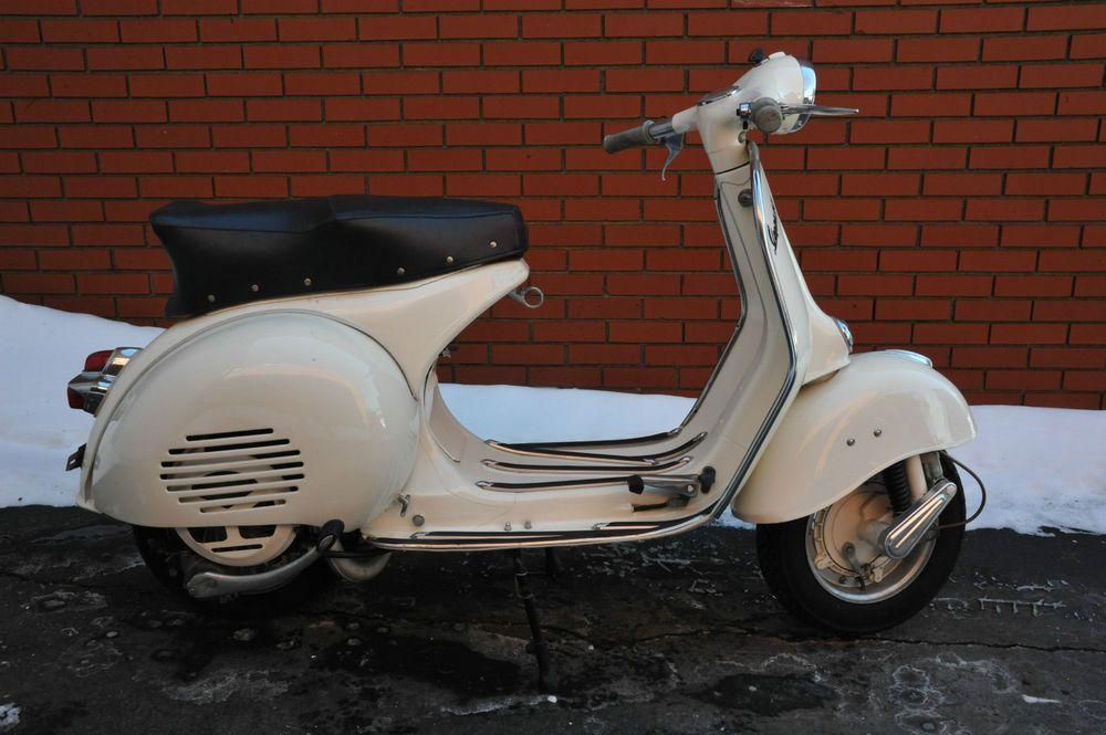 1960 vespa gs 150 vs5 scooter m d vespa motorcycle. Black Bedroom Furniture Sets. Home Design Ideas