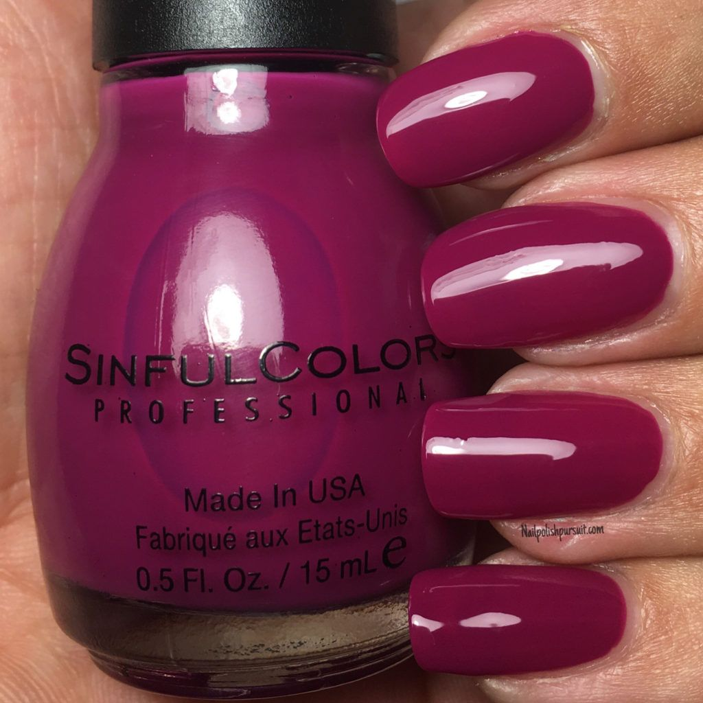 Call Me Violetta by SinfulColors Professional #PRIDE Collection | Nailpolishpursuit.com