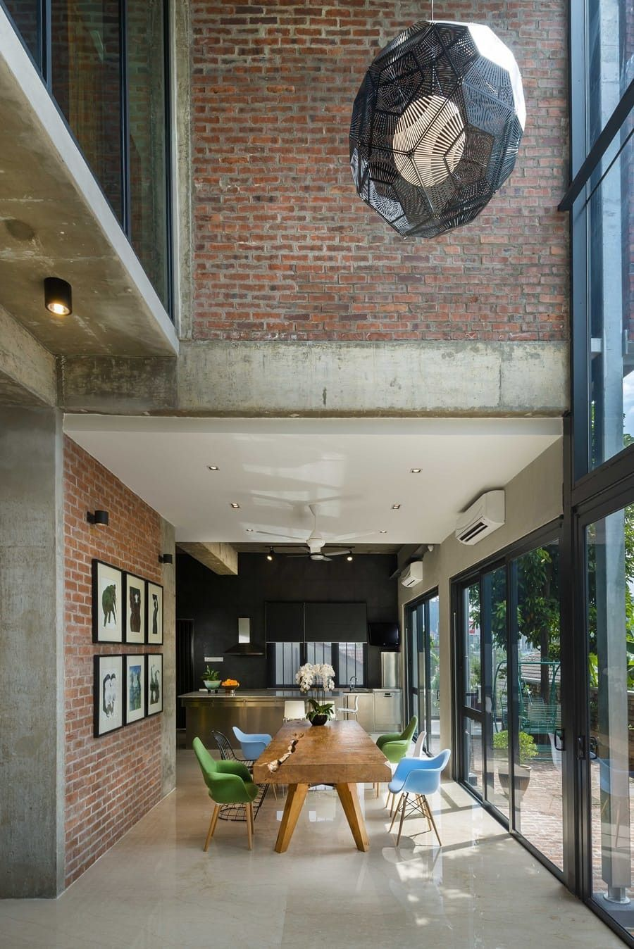interior design of bungalow houses%0A Clay Roof Tile House by DRTAN LM Architect