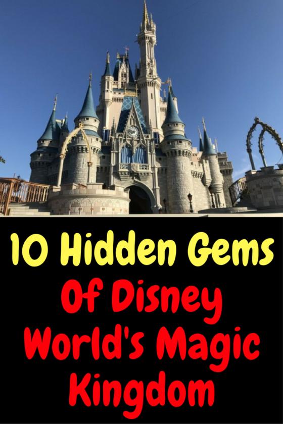 10 hidden gems of disney world s magic kingdom wdw parks rh pinterest com