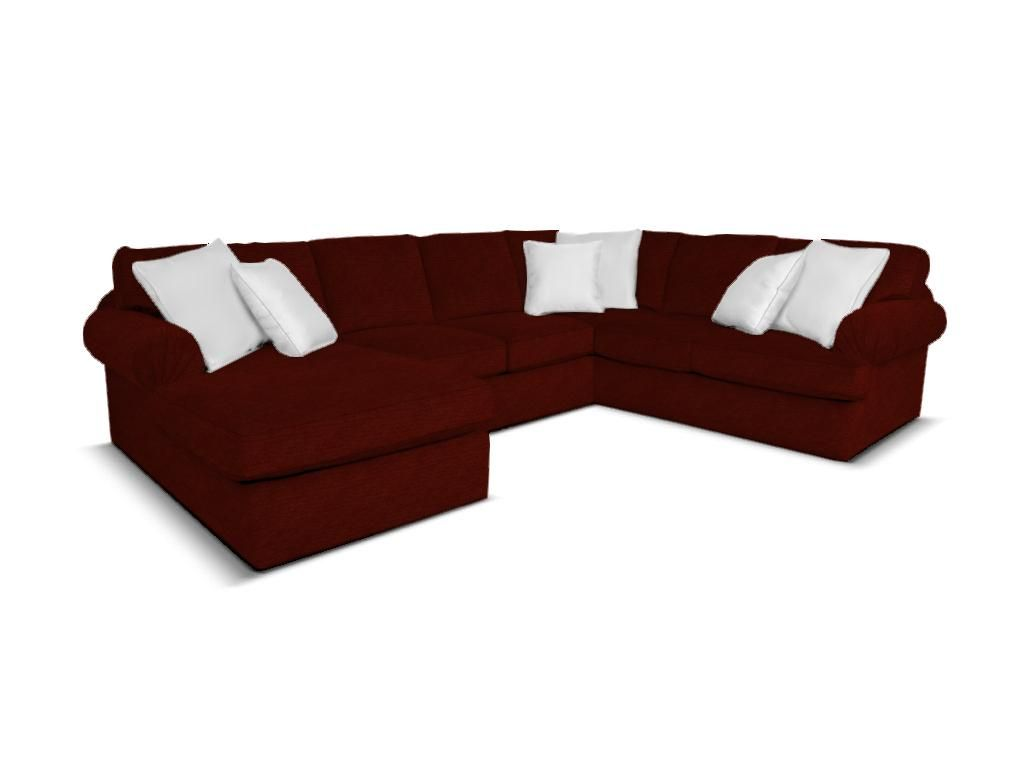 Shop for England Abbie Sectional, 8250-Sect, and other Living Room Sectionals at England Furniture in New Tazewell, TN. The Abbie sectional offers the ultimate curl up comfort.  The seat cushions are deep and think, while the backs are soft and plush.