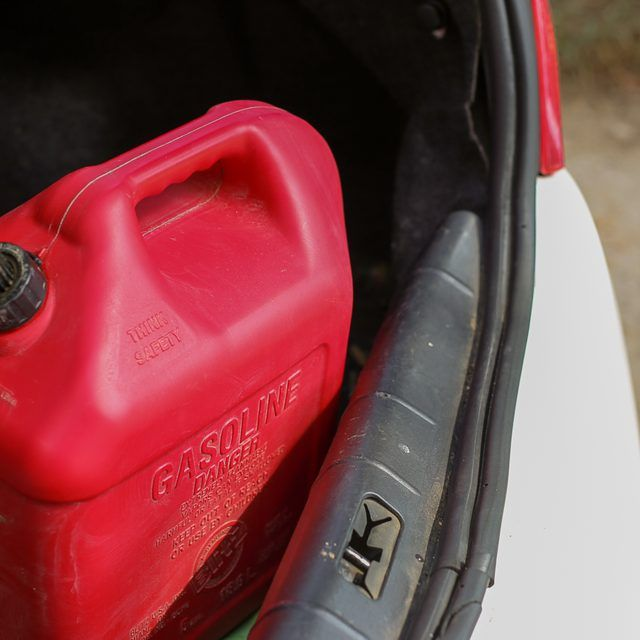 How To Eliminate The Spilled Gasoline Smell From A Car Or