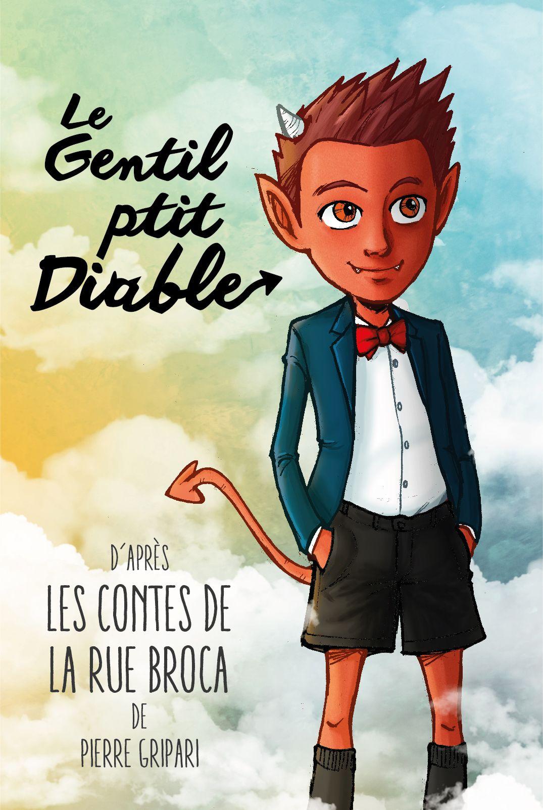 Le gentil petit diable les contes de la rue broca old - Les petit diable noel ...
