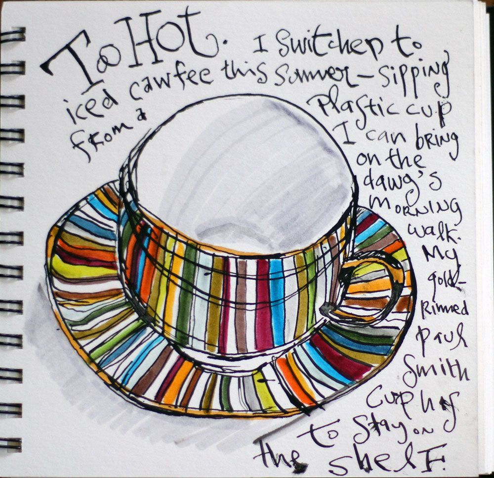 Danny Gregory Danny Gregory Mug Art Art Journal Inspiration