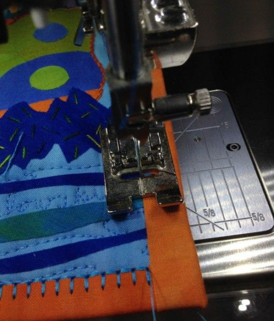 Give Your Quilt's Binding A Special Finish
