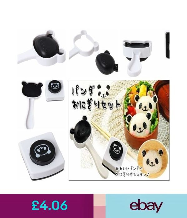 Food Preparation & Tools Kitchen Utensils Panda Bento Sushi Rice Ball Mould Onig...   - Best Cooking Ustensils -