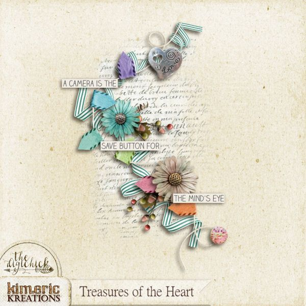Kimeric Kreations A Treasures Of The Heart Cluster From Anita
