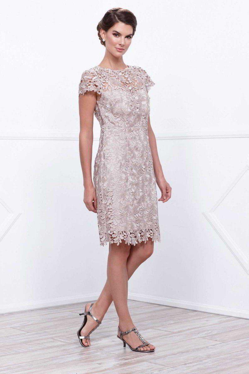 Short Length Lace Mother Dress Knee Length Lace Dress Mothers Dresses Bride Clothes