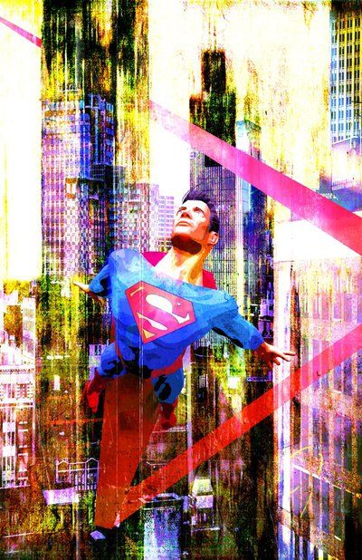 City Gritty Superman by skyscraper48.deviantart.com on @DeviantArt
