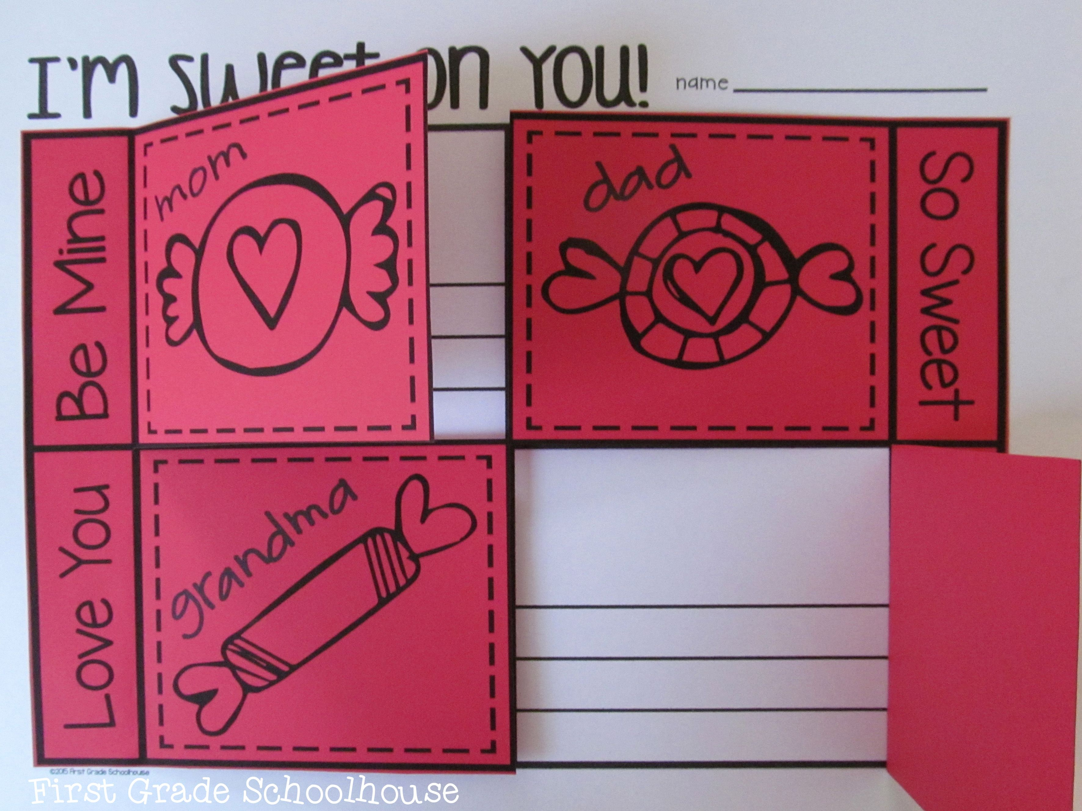 Valentine S Day Writing For First Grade