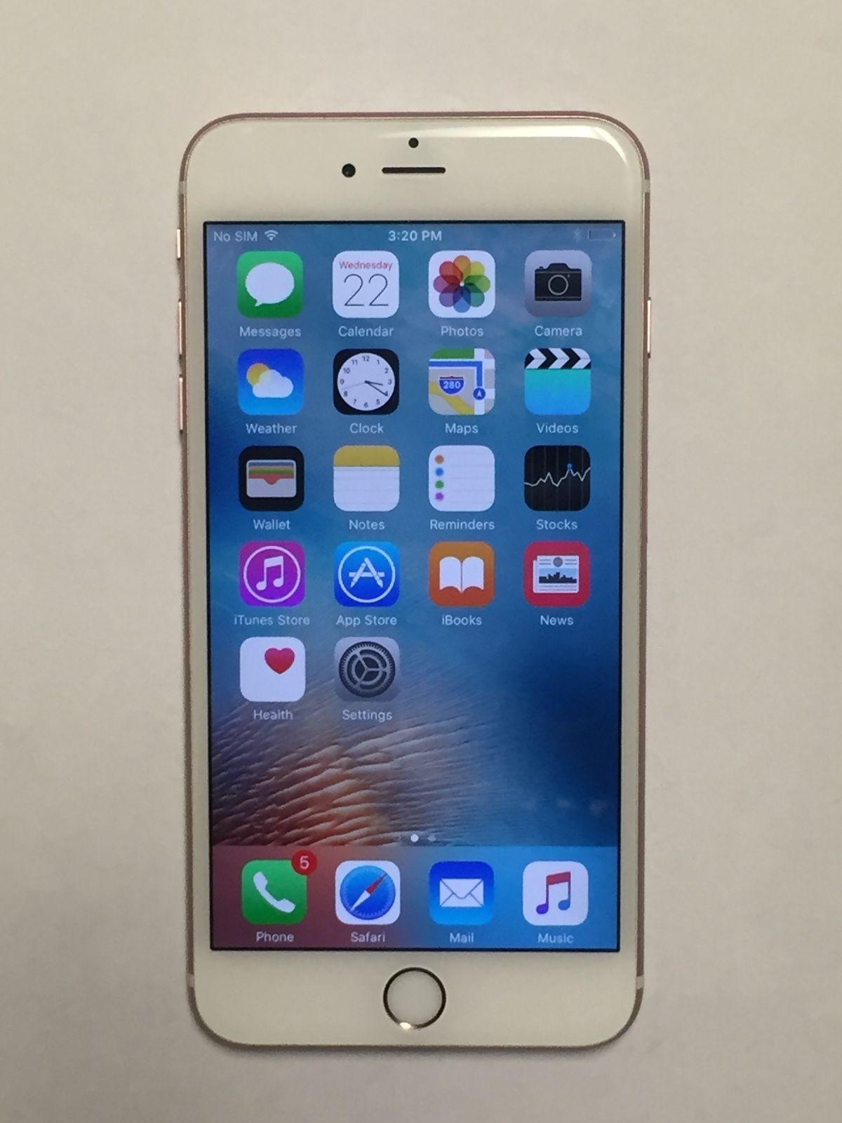 Apple iphone 6s plus latest model 16gb rose gold t