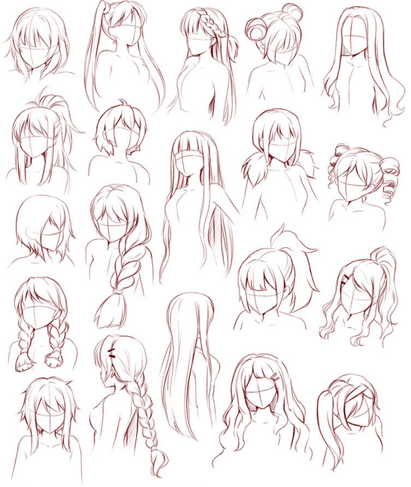 Fabuleux Une sélection de modèles de cheveux pour tous ceux qui sont en  TQ04