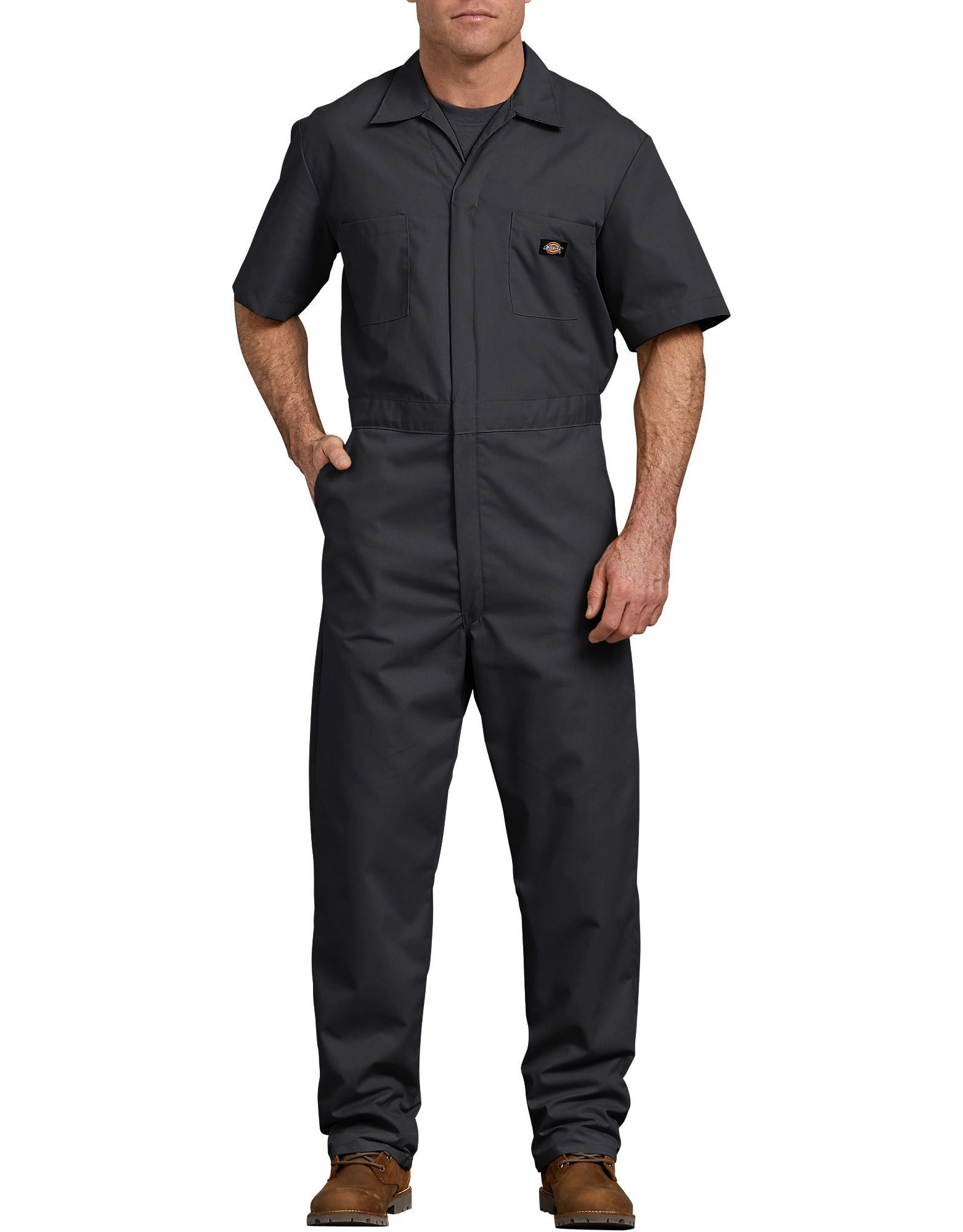 short sleeve coveralls men short sleeve dickies on best insulated coveralls for men id=41984