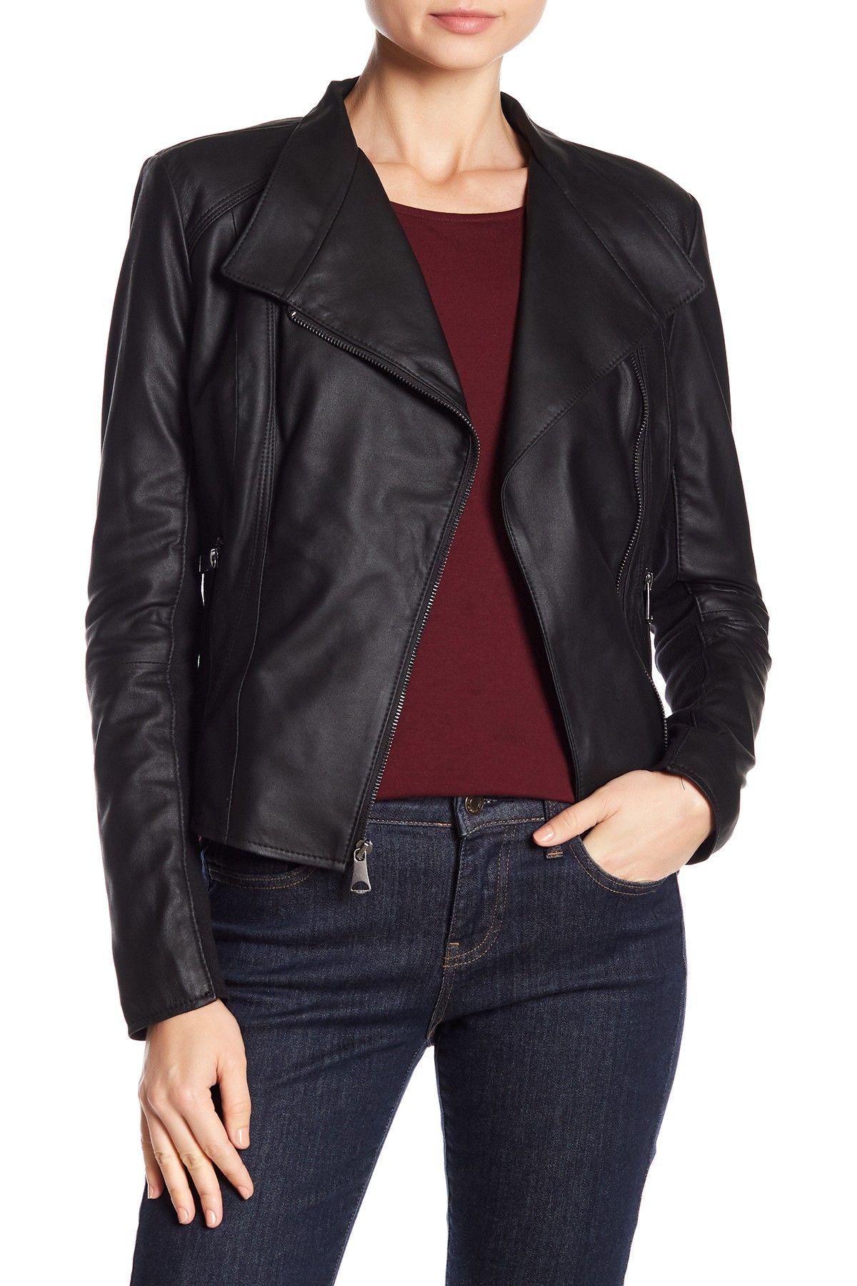 Marc New York Felix Leather Jacket (With images