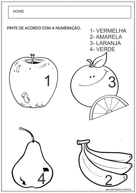 Pin de Lu Santana em atividades para educação infantil
