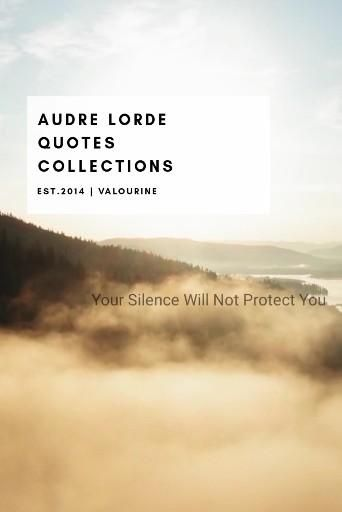 Audre Lorde Quotes Collection Ideas
