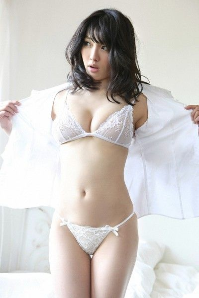 Shy woman having orgasm