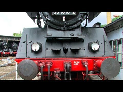 Eisenbahn Fest Bw Halle - Dampflok - Steam Locomotive - Züge