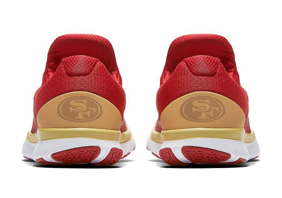 04705f187 49ers NFL NIKE Free Trainer V7 Week Zero Shoes nfl jersey tank top