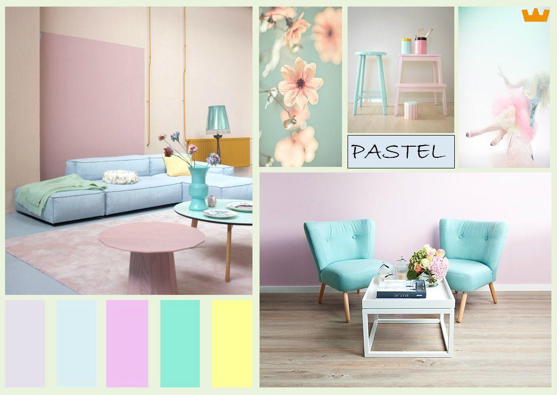 Pastel tinten maken een mooi zacht interieur pastel interieur