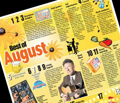 Make plans with the Best of August entertainment calendar York